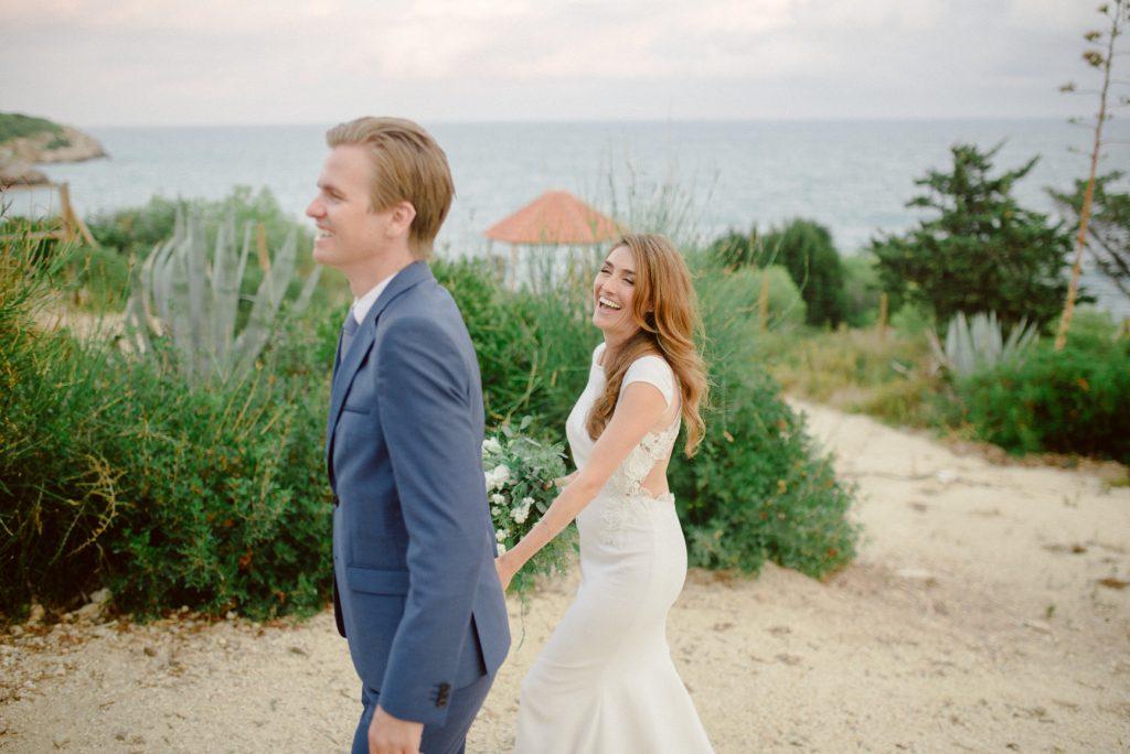 boda con vistas al mar